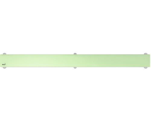 Rošt pro liniový podlahový žlab Alcaplast 30 cm zelené sklo GL1202-300