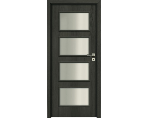 Interiérové dveře Colorado 5 prosklené 60 P antracit (VÝROBA NA OBJEDNÁVKU)