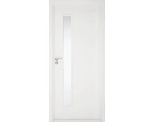 Interiérové dveře Sierra prosklené 90 L bílé (VÝROBA NA OBJEDNÁVKU)