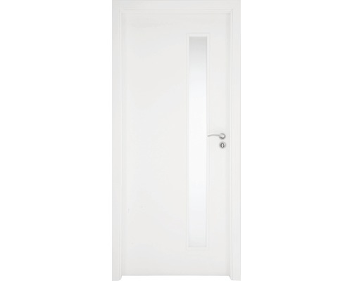 Interiérové dveře Sierra prosklené 60 P bílé