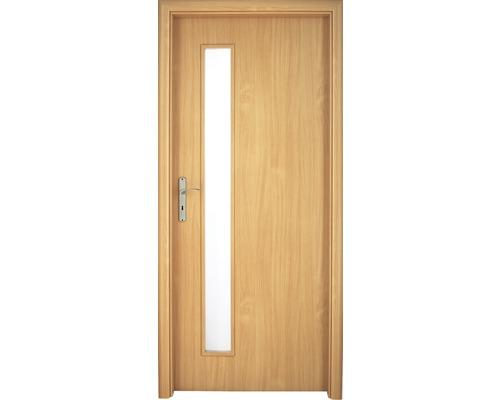 Interiérové dveře Sierra prosklené 60 L buk (VÝROBA NA OBJEDNÁVKU)