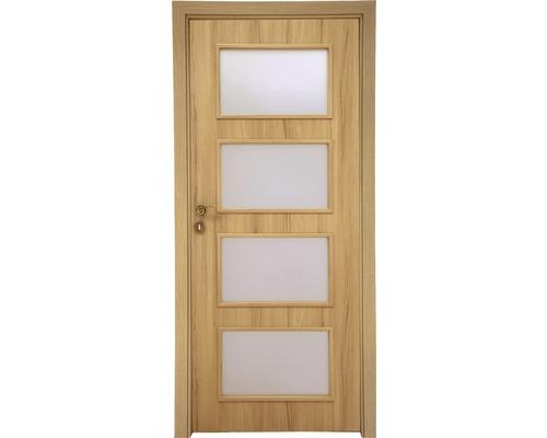 Interiérové dveře Colorado 5 prosklené 70 L buk (VÝROBA NA OBJEDNÁVKU)