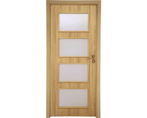 Interiérové dveře Colorado 5 prosklené 60 P buk (VÝROBA NA OBJEDNÁVKU)