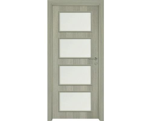 Interiérové dveře Colorado 5 prosklené 90 P cedr (VÝROBA NA OBJEDNÁVKU)