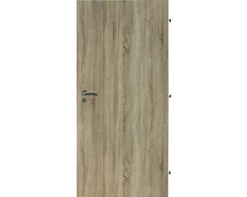 Interiérové dveře Single 1 plné 60 P dub sonoma