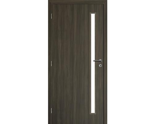 Interiérové dveře Solodoor Zenit 20 prosklené 60 L fólie rustico (VÝROBA NA OBJEDNÁVKU)