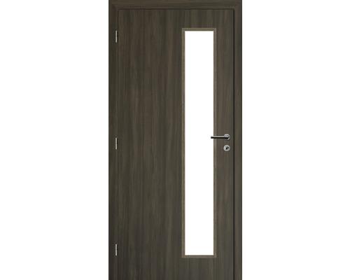 Interiérové dveře Solodoor Zenit 22 prosklené 80 L fólie rustico