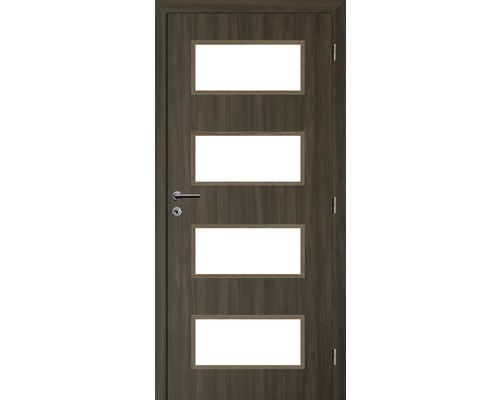 Interiérové dveře Solodoor Zenit 28 prosklené 60 P fólie rustico (VÝROBA NA OBJEDNÁVKU)