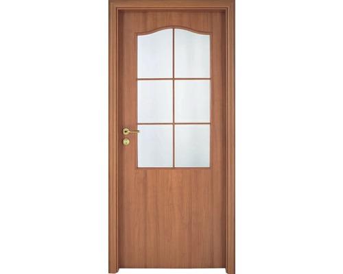 Interiérové dveře Single 2 prosklené 60 L třešeň (VÝROBA NA OBJEDNÁVKU)