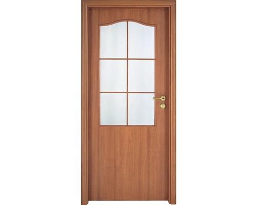 Interiérové dveře Single 2 prosklené 90 P třešeň (VÝROBA NA OBJEDNÁVKU)