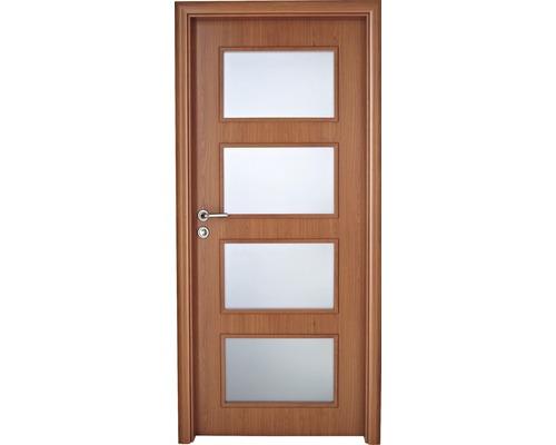 Interiérové dveře Colorado 5 prosklené 90 L třešeň (VÝROBA NA OBJEDNÁVKU)