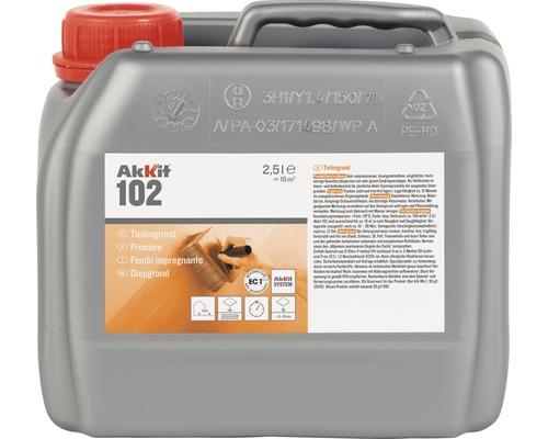 Penetrace hloubková AKKIT 102 základ 2,5 l