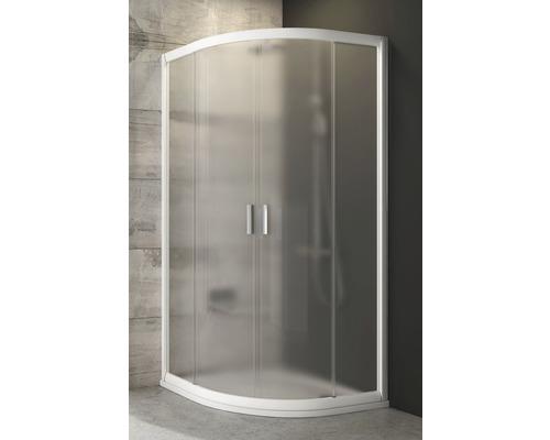 Sprchový kout Ravak Blix BLCP4-90 white+Grape dvoukřídlé dveře 3B270100ZG