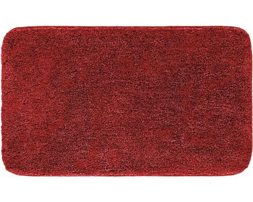 Předložka do koupelny Grund Melange rubín 50x80 cm
