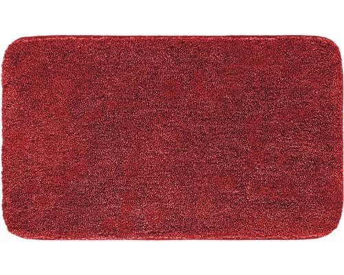 Předložka do koupelny Grund Melange rubín 60x100 cm