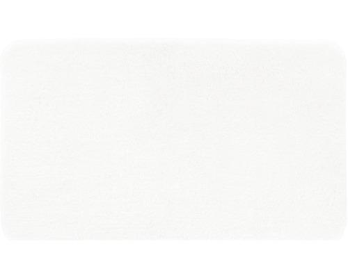 Předložka do koupelny Grund Melange bílá 60x100 cm