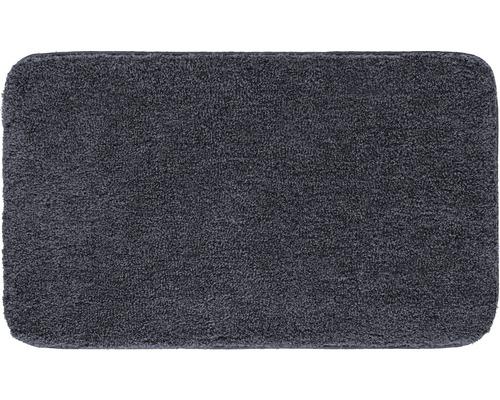 Předložka do koupelny Grund Melange tmavě šedá 70x120 cm