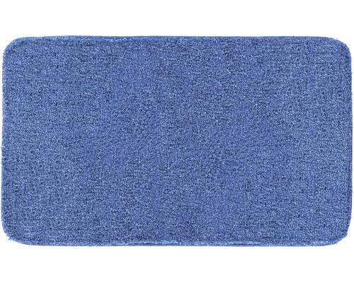Předložka do koupelny Grund Melange modrá 70x120 cm