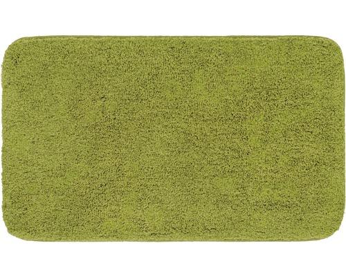 Předložka do koupelny Grund Melange kiwi zelená 70x120 cm