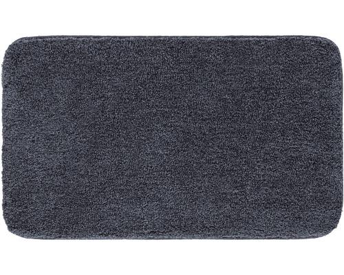 Předložka do koupelny Grund Melange tmavě šedá 80x140 cm