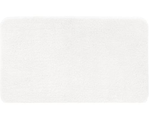 Předložka do koupelny Grund Melange bílá 50x110 cm