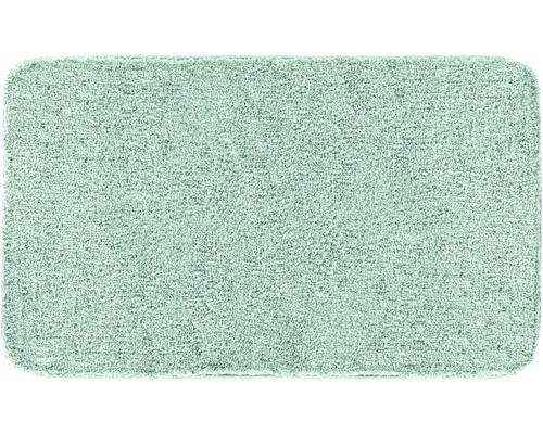 Předložka do koupelny Grund Melange zelená 50x110 cm