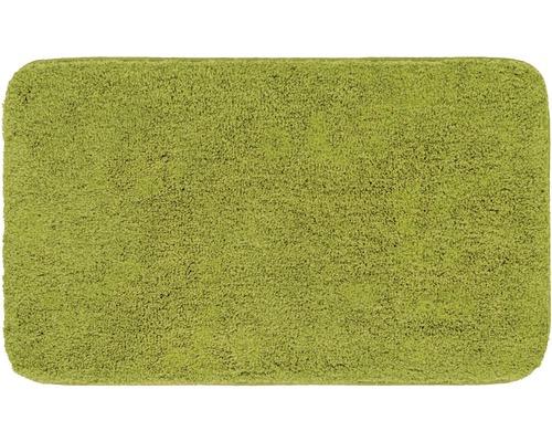 Předložka do koupelny Grund Melange kiwi zelená 50x110 cm