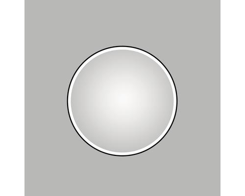 Zrcadlo do koupelny DSK LED Black Circular Ø 100 cm