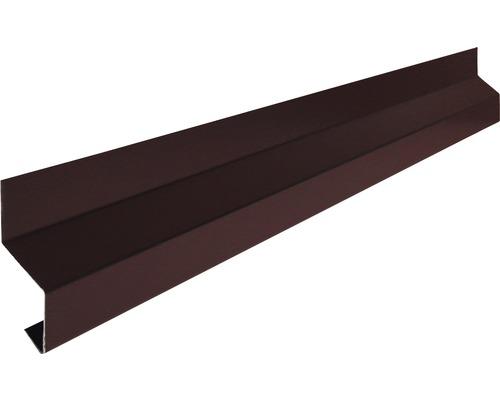 Okapní profil ke stěně Precit Roof 8017 90 mm 1 m