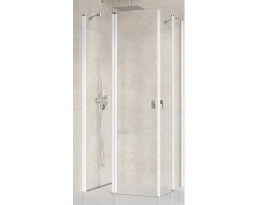 Modulární sprchový kout Ravak Chrome CRV2-120 white+Transparent jedna strana 1QVG0100Z1
