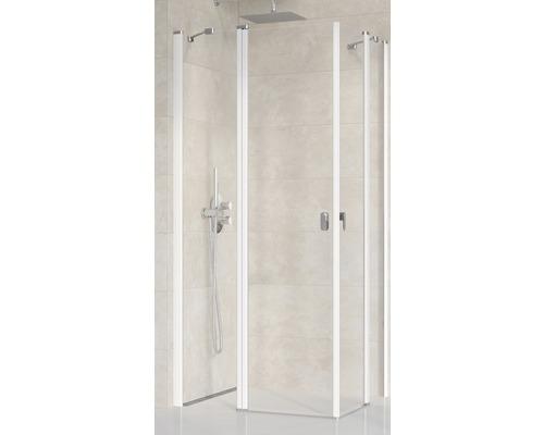Modulární sprchový kout Ravak Chrome CRV2-90 white+Transparent jedna strana 1QV70100Z1