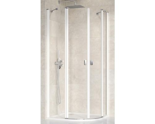Sprchový kout Ravak Chrome CSKK4-90 white+Transparent 3Q170100Z1