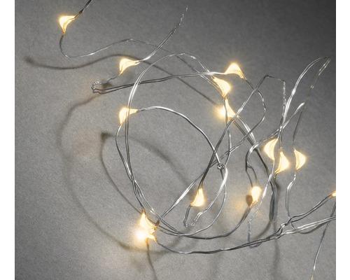 Světelný řetěz Konstsmide Micro 20 LED, jantarové světlo