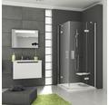 Sprchový kout RAVAK Smartline SMSRV4-90 chrom+transparent 1SV77A00Z1