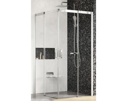 Sprchový kout Ravak Matrix MSRV4-100/100 white+transparent 1WVAA100Z1