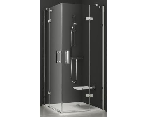 Sprchový kout RAVAK Smartline SMSRV4-80 chrom+transparent 1SV44A00Z1
