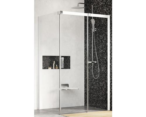 Sprchový kout RAVAK Matrix MSDPS-110/80 R white+Transparent 0WPD4100Z1