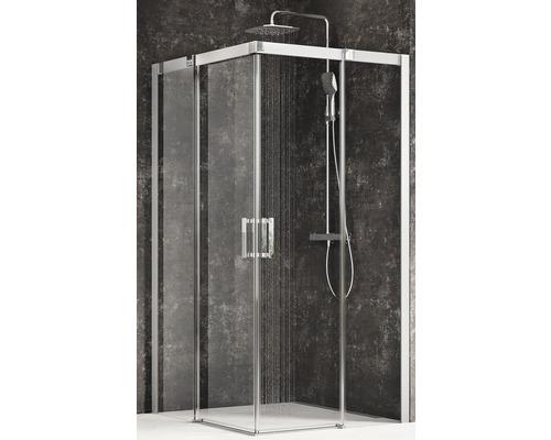 Sprchový kout Ravak Matrix MSRV4-80/80 satin+transparent 1WV44U00Z1