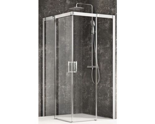 Sprchový kout Ravak Matrix MSRV4-90/90 satin+transparent 1WV77U00Z1