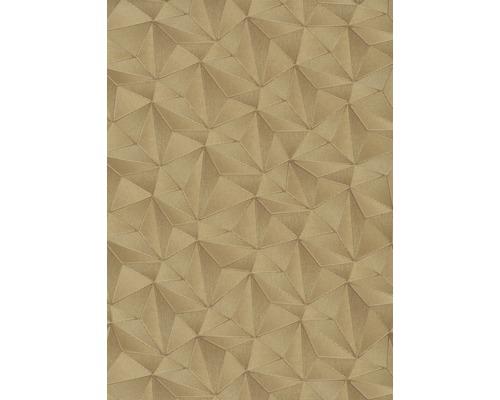 Vliesová tapeta grafická zlatá 10,05 x 0,53 m