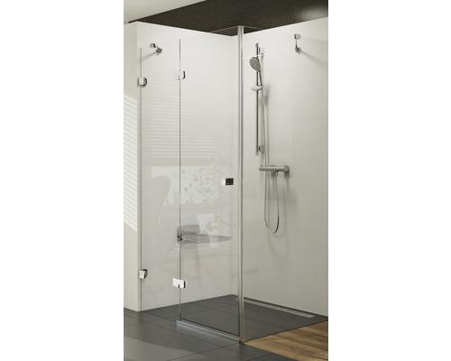 Sprchový kout Brilliant RAVAK BSDPS 100x80 cm L chrom+transparent 0ULA4A00Z1