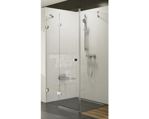 Sprchový kout Brilliant RAVAK BSDPS 110x80 cm L chrom+transparent 0ULD4A00Z1