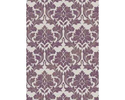 Vliesová tapeta Ornament fialová