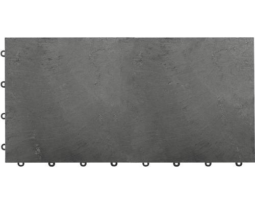 Terasová dlaždice kamenná Florco Stone XL 30 x 60 cm s klick systémem břidlice balení 2 ks