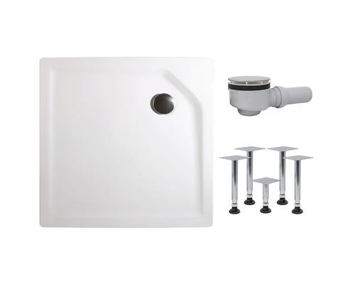 Sprchová vanička Schulte 80x80 cm extra plochá D2008004