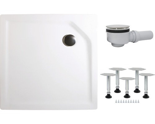 Sprchová vanička Schulte 100x80 cm extra plochá D2010004