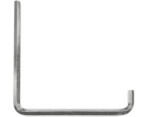 Klíč šestihranný, 4mm, pro seřizování plastových oken a dveří