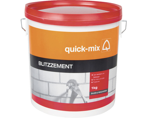 Rychletuhnoucí cement QUICK MIX BZ 1 kg