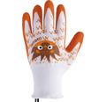 Dětské rukavice GASTON-IT 6-8 1 pár oranžové