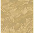 Vliesová tapeta Mandalay, motiv květiny, zlatá